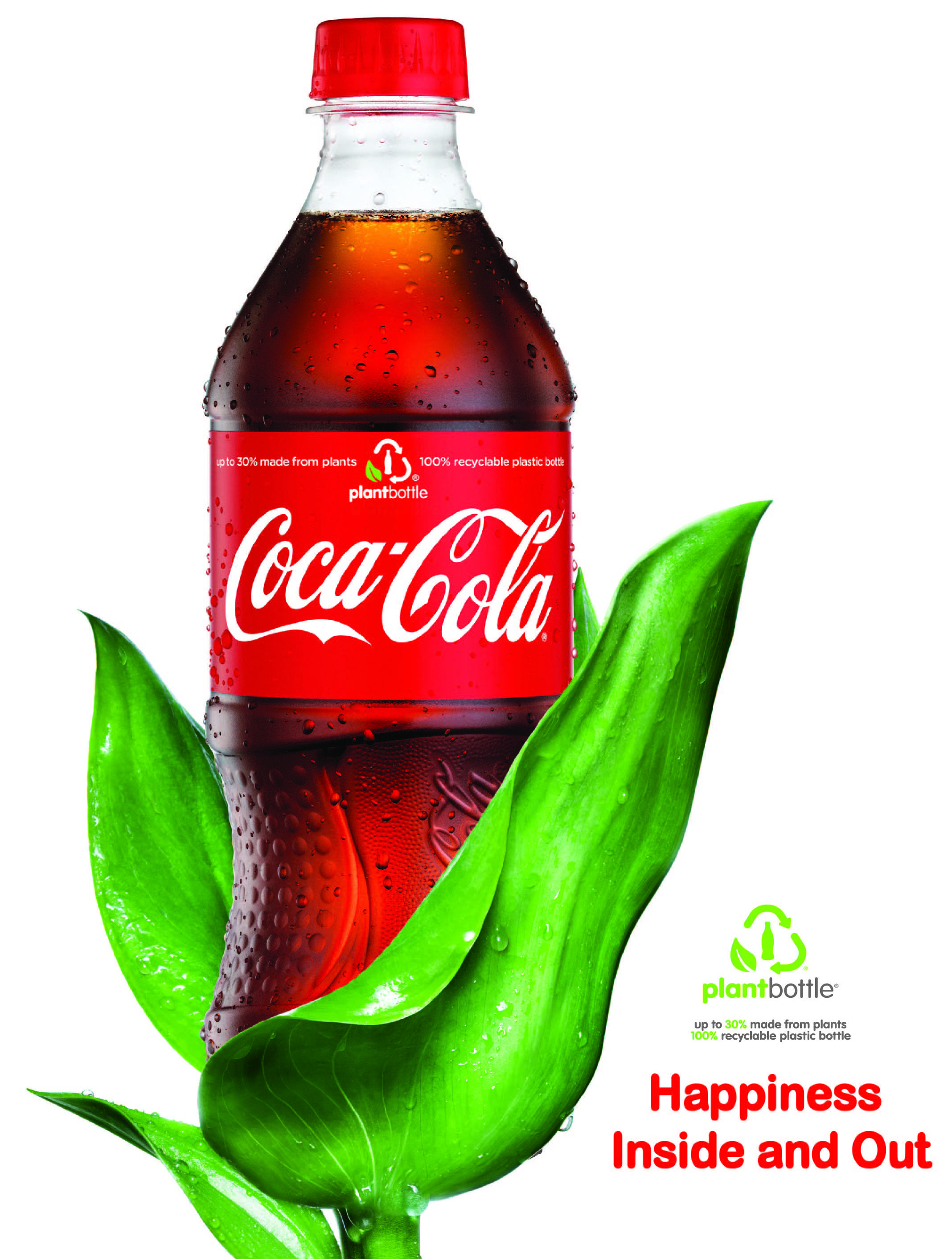 Plant Bottle Really Really Coca Cola Bottling Company