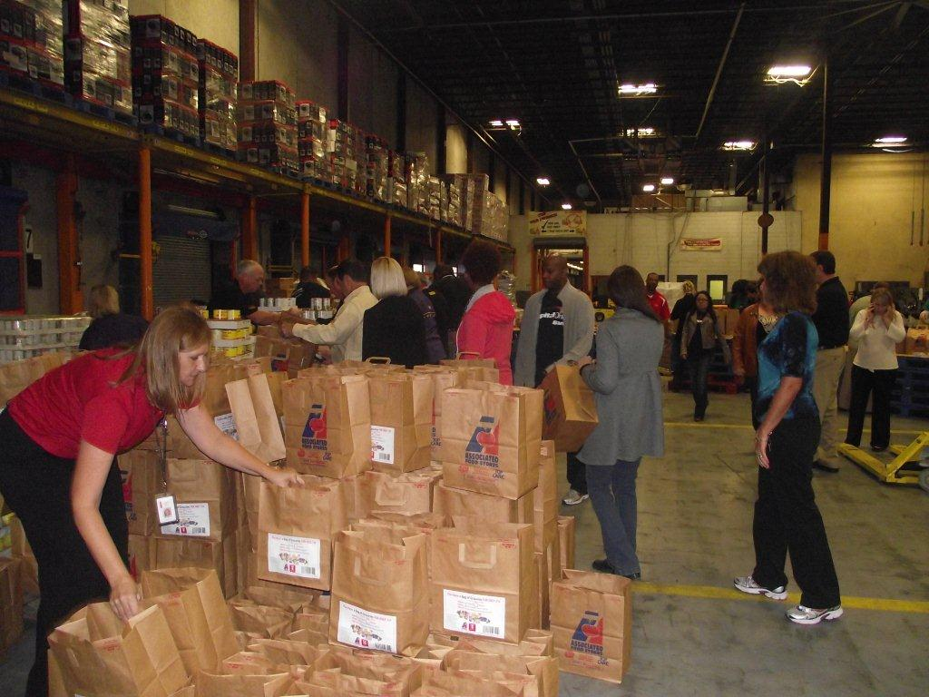 Bagging The Joy For The Greater Baton Rouge Food Bank