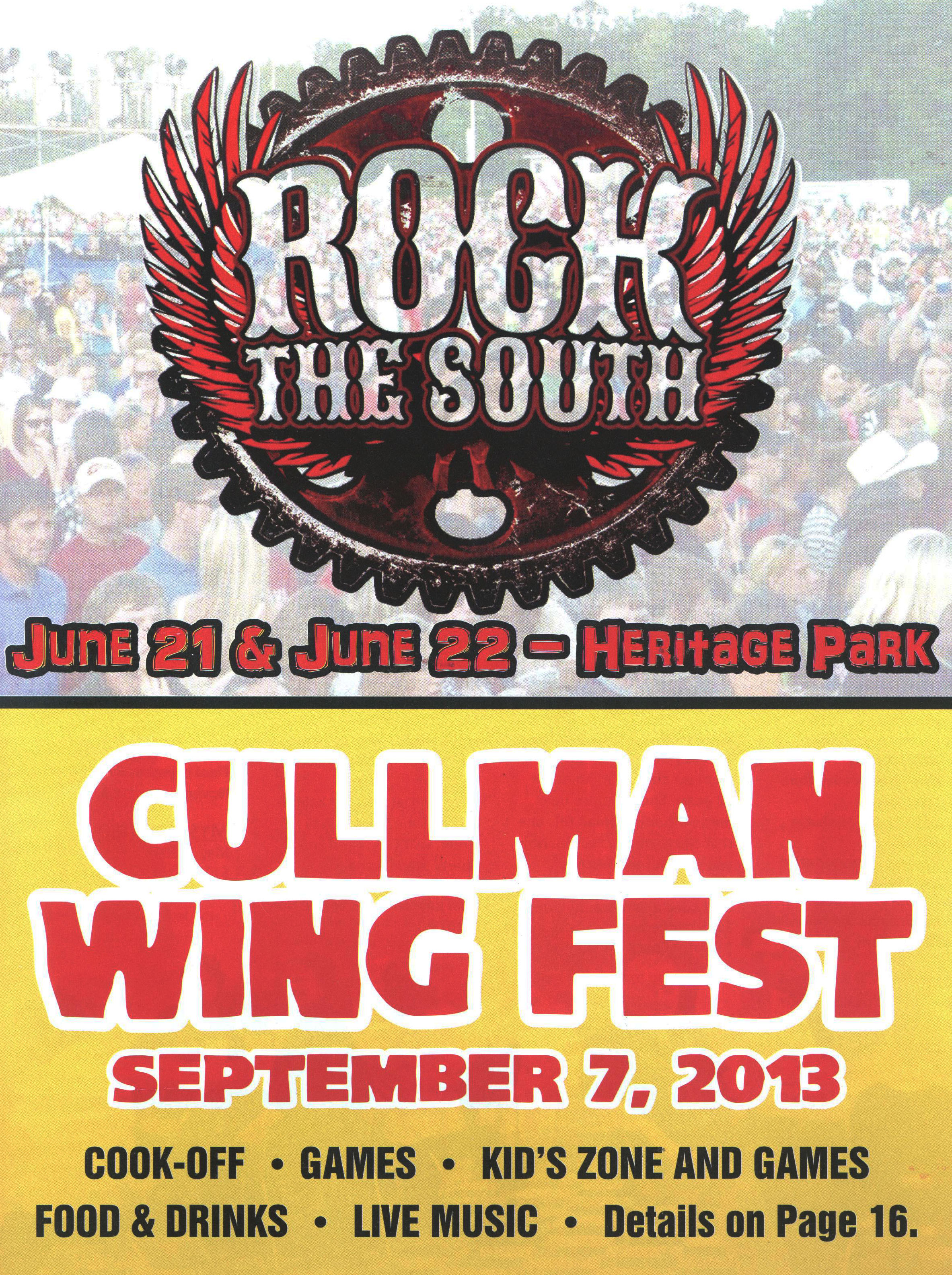 Cullman Rock the South