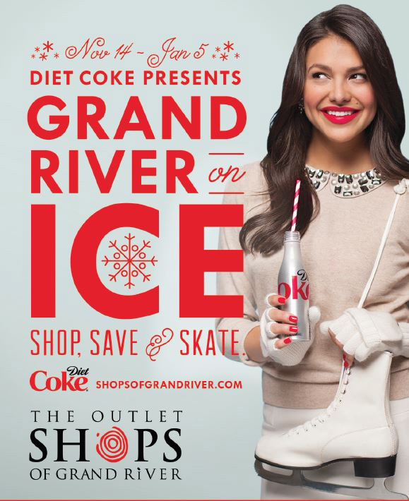 Diet Coke and The Outlet Shops of Grand River!