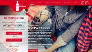 2016 Pay It Forward The Coca-Cola Company