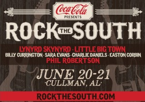 in a Rock the South VIP package? This rock'n package has
