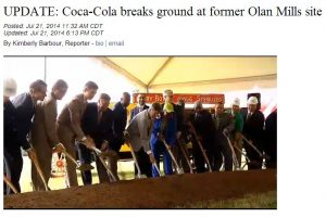 News Update and Video Chattanooga Coca-Cola New Distribution Center