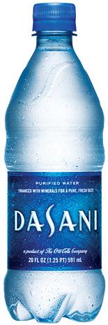 Dasani water recall 2015
