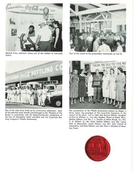 Alexandria Coca-Cola Historical Documents Article p3 cocacolaunited com