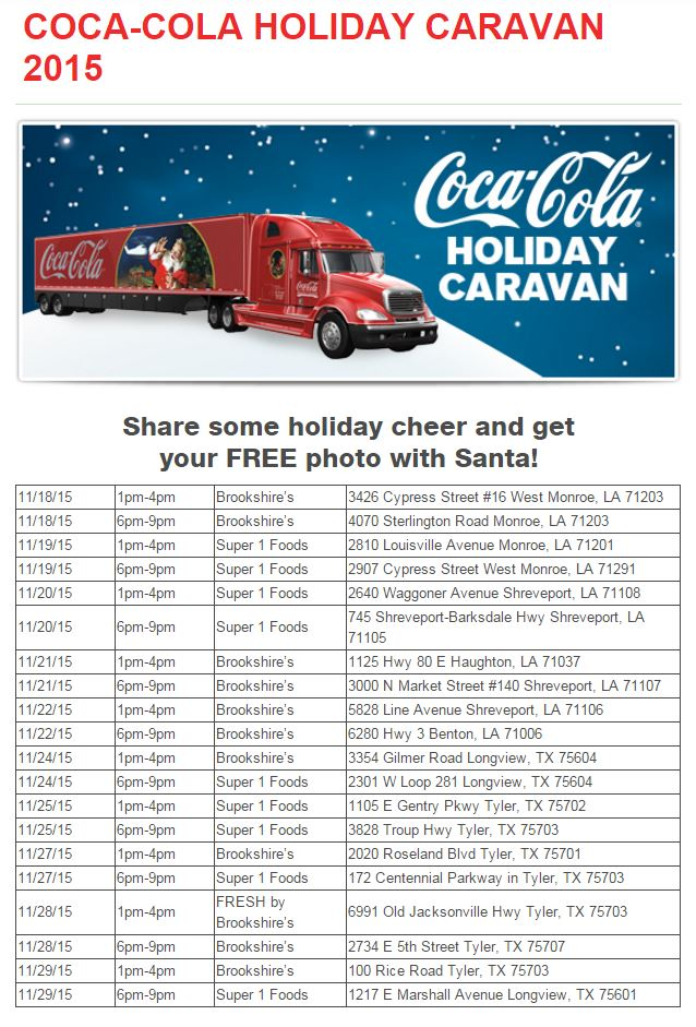 Holiday, Coca-Cola, Caravan, Christmas