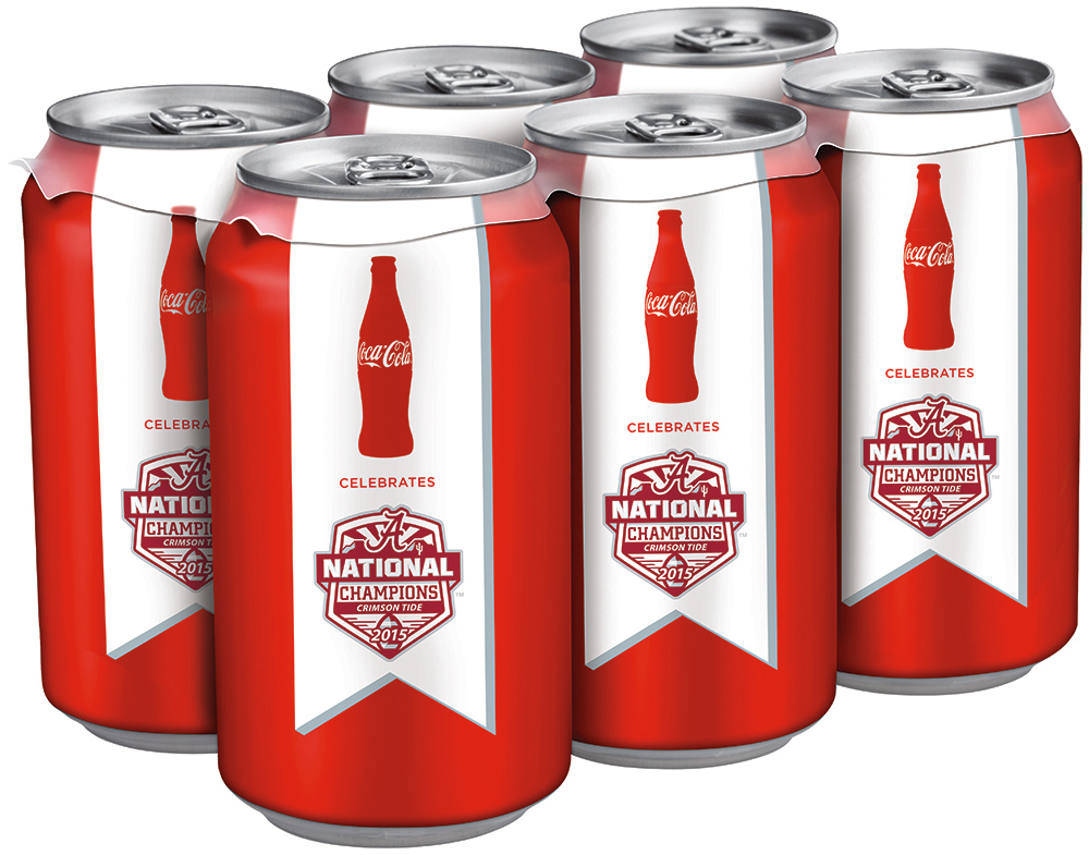 Bama Cel 6Pack, National College Football Championship