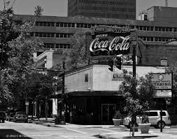 Baton Rouge Coca-Cola sign Third Street 1950