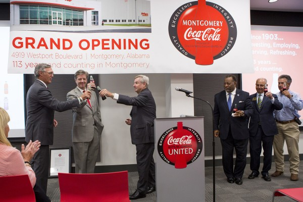 Toast, Relationship, Mayor Todd Strange, Chairman Elton Dean, Grand Opening, Facility, Investment, Commitment