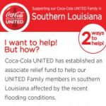 I want to help! UNITED Associate Relief in southern Louisiana