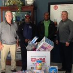 Associates support Toys for Tots