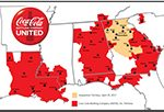UNITED closed the transaction today on Coke's hometown, Atlanta, and seven other strong Georgia Territories