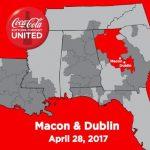 Dublin Coca-Cola Coca-Cola UNITED after Close of Transaction with The Coca-Cola Company