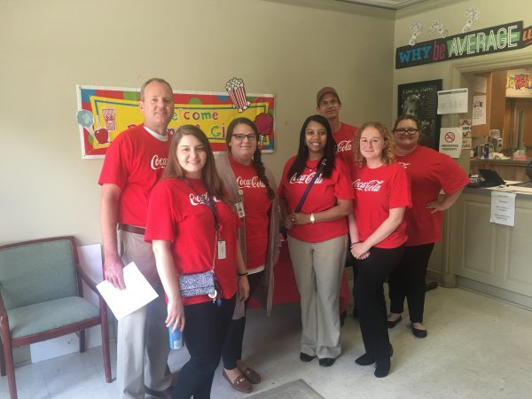 United Way of Central Alabama, Pacesetter, Agency Visits, Giving, Community, Coca-Cola UNITED