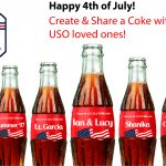USO Personalized Coke Bottles or Cans … Share a Coke