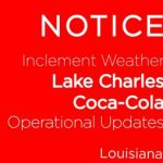 Hours of Operations:  Lake Charles, LA
