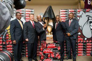 Magic City Classic. Bo Taylor, Larry Thornton, Mayor Bell, UNITED