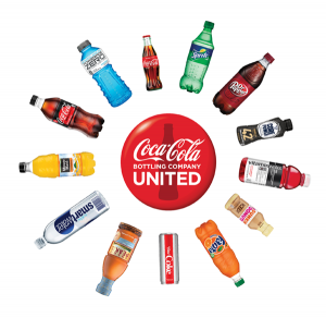coca-cola united, beverages, products,