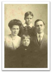 vintage photo of family