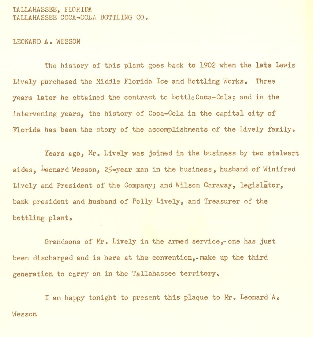 typewriter written letter