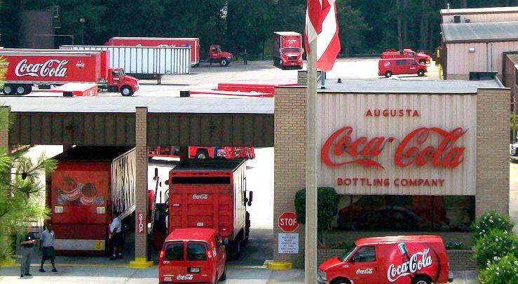 augusta coca cola headquarters