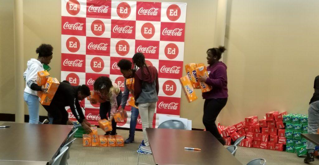 Birmingham Education Foundation Career Day, Birmingham Coca-Cola
